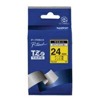 【ブラザー】 文字テープ TZe-651黄に黒文字 24mm★お得な10個パック 【ブラザー】 文字テープ TZe-651黄に黒文字 24mmお得な10個パックセット