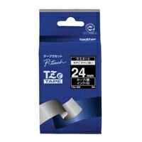 【ブラザー】 文字テープ TZe-355黒に白文字 24mm★お得な10個パック 【ブラザー】 文字テープ TZe-355黒に白文字 24mmお得な10個パックセット
