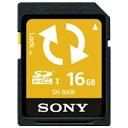 【SONY】 Backup機能付SDカード16GB SN-BA16 Fお得な10個パックセット