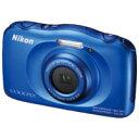 【ニコン】 デジタルカメラCOOPIX S33BLブルー