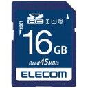 エレコム SDHCメモリカード16GBMF-FS016GU11R