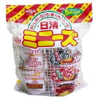【日清食品】 日清ミニーズ 5種×6パック20150 入数:1 ★お得な10個パック