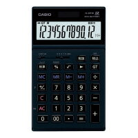 【カシオ計算機】 本格実務電卓 JS−201SK ブラックJS−201SK−BK−N 入数:1 ★お得な10個パック