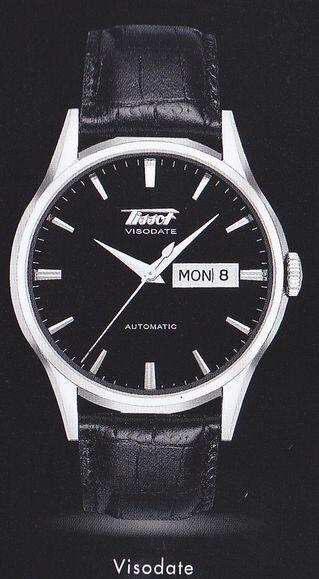 【送料・き手数料無料】腕時計 TISSOT 160年に亘る歴代の名品復刻のコレクションTISSOT Heritage  Visodate  T019.430.16.051.01【送料・き手数料無料】