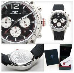 TECHNOS/テクノスクロノグラフ腕時計限定モデルT5205SS【送料・代引き手数料無料】