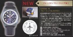 腕時計ブルーインパルスブルーイオンプレーティング加工ピンバッジ付S455M-15【送料・代引き手数料無料】