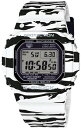 【送料・代引き手数料無料】CASIO/カシオ Gショック ソーラー電波ユニセックス 腕時計 ホワイト&ブラックシリーズ GW-M5610BW-7 海外モデル