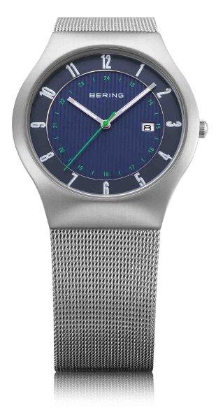 【送料・き手数料無料】腕時計 BERING Mens Northern Light Solar 限定ブルー×シルバー 600本限定2016夏 最新モデル 14440-079【送料・き手数料無料】