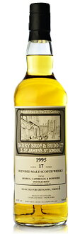 BBR ブレンデッドアイラ [1995] 17年 for Shinanoya from ARDBEG,BOWMORE&LAPHROAIG