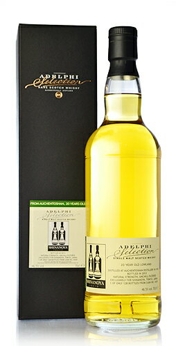 Adelphi Auchentoshan 20 years (Auchentoshan 20yo) Bourbon barrel #5429 for SHINANOYA * click here 10/24 (Thursday) shipment is scheduled.