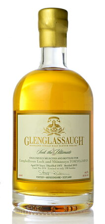 ��ͽ��ۥ���󥰥�å�39ǯ(Glenglassaugh39yo)[1973]��SeektheUltimate��forCampbelltounLoch&Shinanoya��6��13��(��)���вٳ���ͽ��Ǥ���