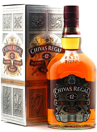 Chivas Regal 12 years (authorized 1,000 ml)