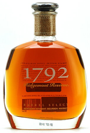 "■1792 ridge Mond reservation """" eight years (750 ml)"
