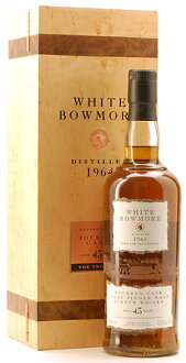 ☆ White Bowmore 43 year [1964]!