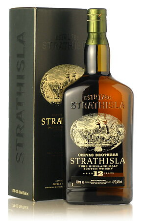 * Product images is 1000 ml-strathisla 12 year old bottle 700 ml parallel and boxes.