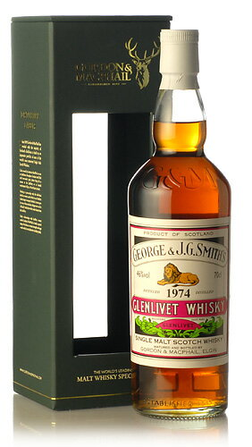 GM old vintage Smith Glenlivet ( Glenlivet ) for JIS