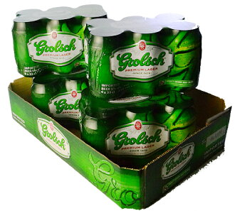 Grolsch cans case sales * wrapping is not.