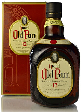 Article regular for Old Parr 12 years