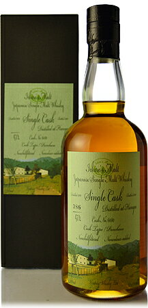 ◆ s malt 10 years single cask Pantheon #6080 [2000]