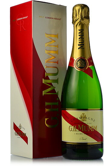 And G... H... MUMM Cordon Rouge Brut N.V.