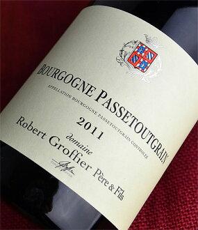◆, Robert Groffier Bourgogne パストゥグラン [2011]