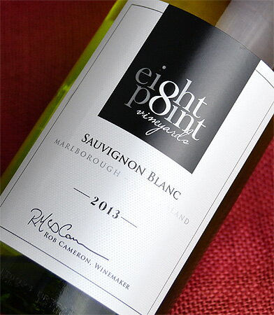 ◆ eight points by インヴィーヴォ Marlborough sauvignon [2013]