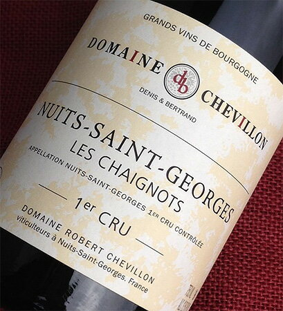 Robert Chevillon Nuits-Saint-Georges, 2011 1 er and senio
