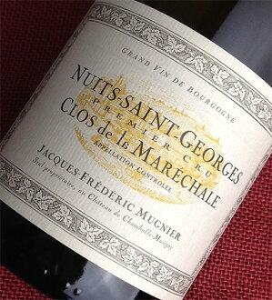 Jack Frederick Muni Nuits Saint Blanc Georges grade Clos de la Marechal [2011]