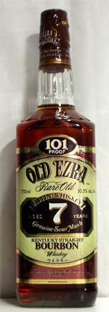 Old Ezra 7 years (750 ml)