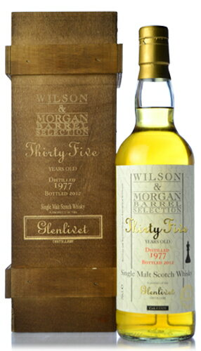 Wilson & Morgan Glenlivet 35 years ( Glenlivet 35yo ) [1977] for SHINANOYA * thanks now sold out.