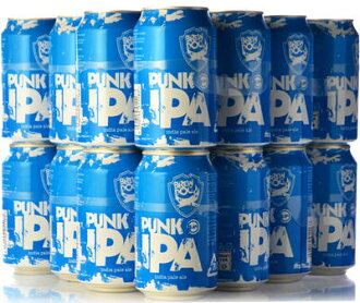 ブリュードッグ punk IPA cans case (24 cans) cannot be * wrapping.