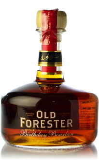 ♦ old Forester birthday Bourbon 2012