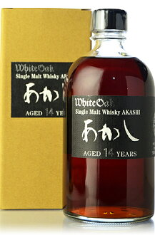 White Oak testifies now sold out and single malt 14 years (Akashi 14yo) * thanks.