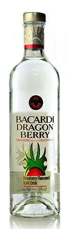 Bacardi ドラゴンベリー * subject to amount of time until the ship is here.