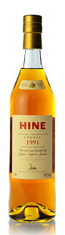 Early landed Hine [1991] SELECTED AND BOTTLED BY JIS