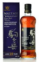 本坊酒造モルテージ駒ケ岳ピュアモルトウイスキー10年(新瓶)(Komagatake10yo)