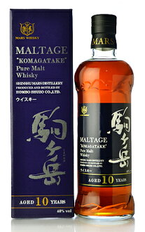 Honbo brewing mortage pieces-Dake single malt whisky 10 year (新瓶) (Komagatake 10yo)