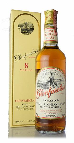 【オールドボトル】グレンファークラス 8年 1980年代流通品