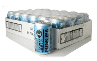 ブリュードッグ パンク IPA 缶 ケース(24缶) ※ラッピングはできません。 ※こちらは出荷まで2〜3営業日頂戴する場合がございます。 あらかじめご了承ください。