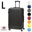 スーツケース Lサイズ約幅48cm×奥行29cm×高さ75cm 容量98L 3.6kg TSAロック キャリーバッグ 大型 キャリーケース スーツケース 静音 ダブルキャスター 8輪