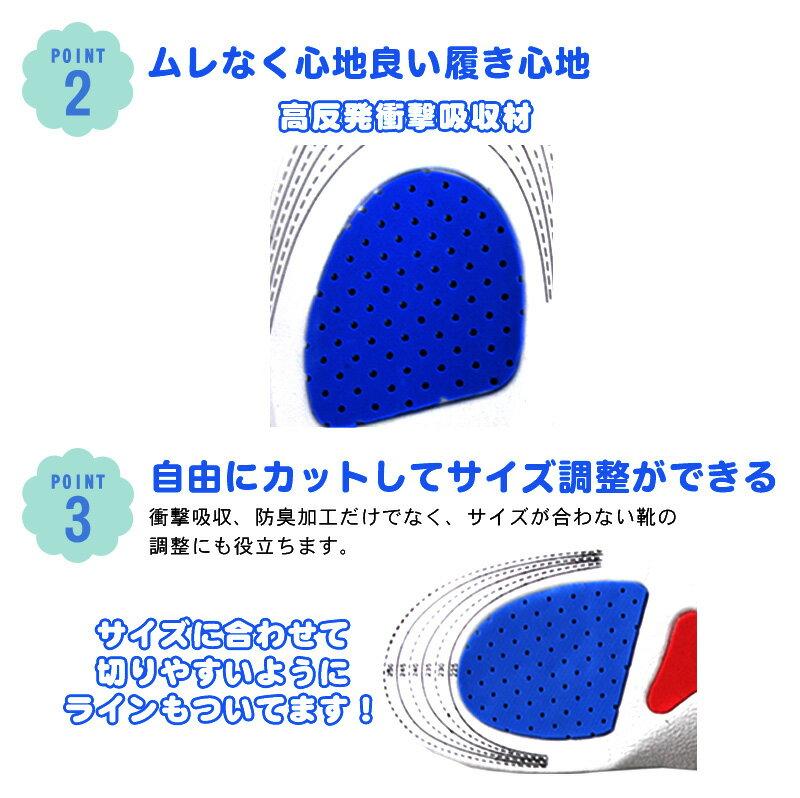 インソール 靴中敷き 1足【メール便送料無料】...の紹介画像3