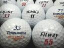 【送料無料】FITWAY TOBUNDA IGNIO OPST4種混合ホワイト 30P【ロストボール】【ゴルフボール】【あす楽対応_近畿】【中古】