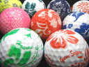 花柄ボール 10Pセット 【ロストボール】【ゴルフボール】【あす楽対応_近畿】【中古】