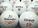 【送料無料】FITWAY・TOBUNDA・IGNIO・OPST 4種混合 ホワイト 30P 【ロストボール】【ゴルフボール】【あす楽対応_近畿】【中古】