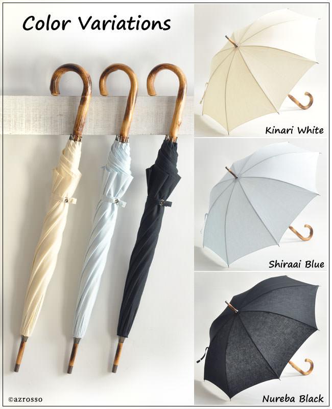 ワカオ 日本製ブランドの麻素材の日傘 47cm...の紹介画像2