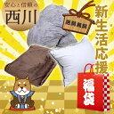 【2018 福袋】西川 シングル ロング 3点セット【送料無...