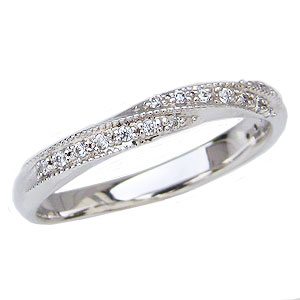 ダイヤモンドリング ダイヤモンド指輪 プラチナ PT900 ダイヤモンド 0.10ct【RCP】 普段使いにも最適なダイヤモンドプラチナリング一般