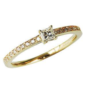 ダイヤモンドリング ダイヤリング ダイヤモンド ダイヤモンド指輪 ダイヤ K18 イエローゴールド 送料無料 誕生日プレゼント クリスマスプレゼント ホワイトデー 記念日【RCP】 シンプルでラグジュアリーな輝き ダイヤモンリング