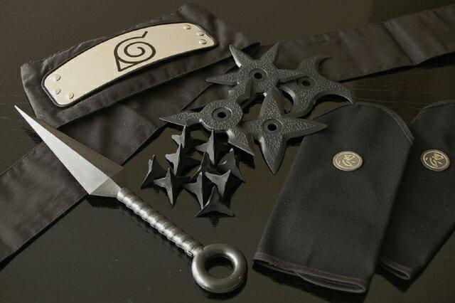 나루토 봐야하는 8 점 세트 검은색 닌자/시대 극 옷 용품 할로윈/크리스마스/생일 선물 최고