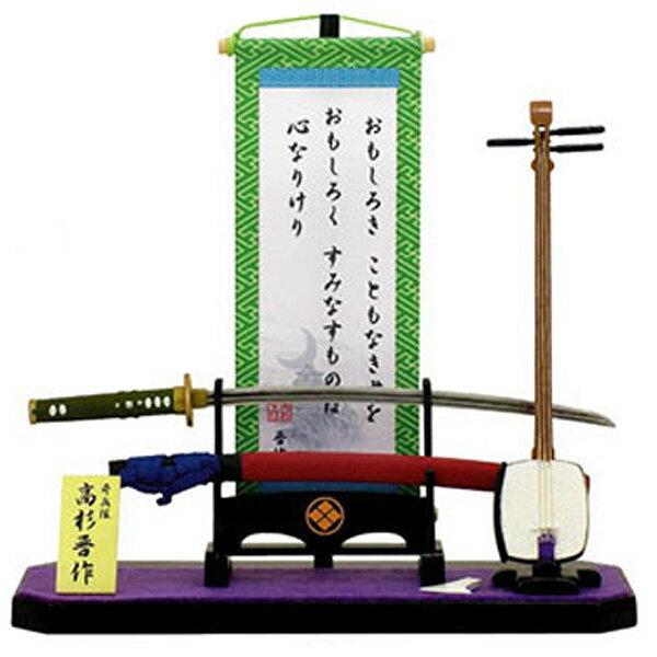 Edo hanging scroll set takasugi shinsaku.